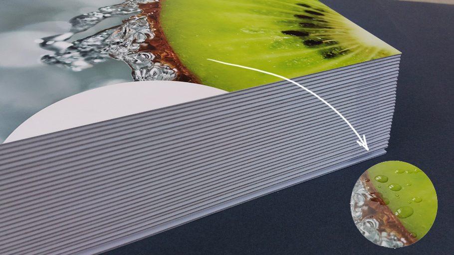 menu restauracyjne, druk na papierze wodoodpornym