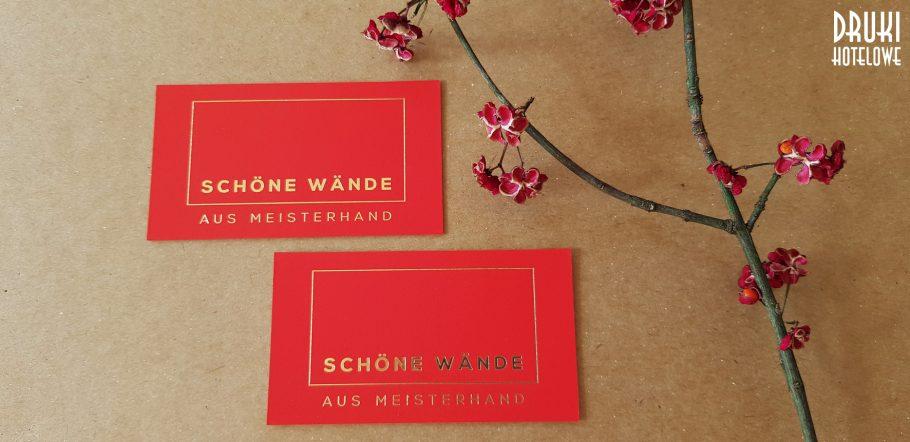 luxury business cards_hot stamping kraków_druki hotelowe