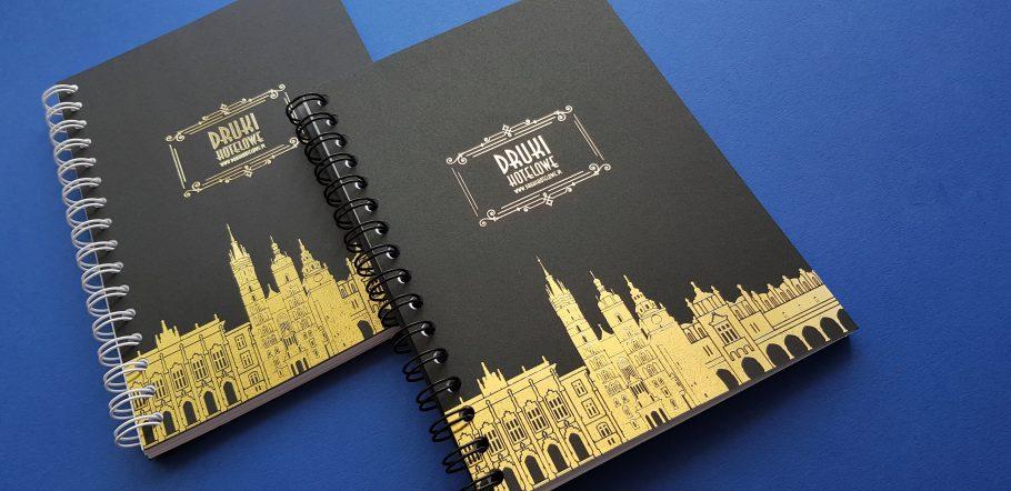 notesy firmowe_notebook_złocenie_notatnik_ze spiralą