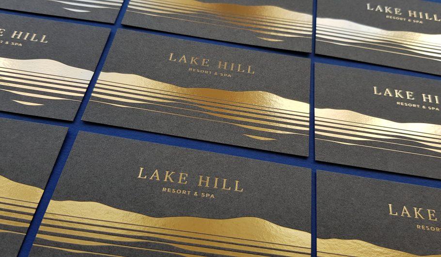 wizytówki hot stamping_dla hoteli_resort_spa_eleganckie druki