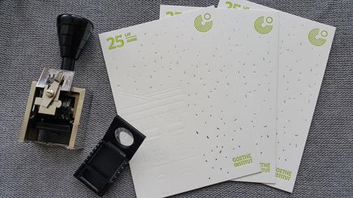 zaproszenia letterpress_tłoczenia na papierze bawełnianym
