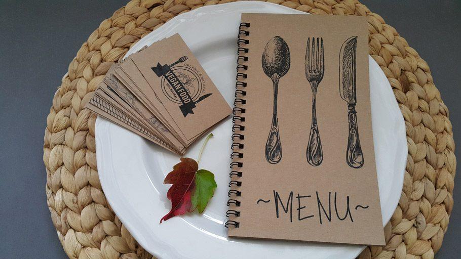 druki restauracyjne krakow_druk menu eko