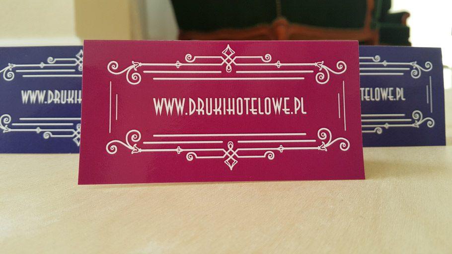 winietki na stól_druki dla hoteli_druki gastronomiczne