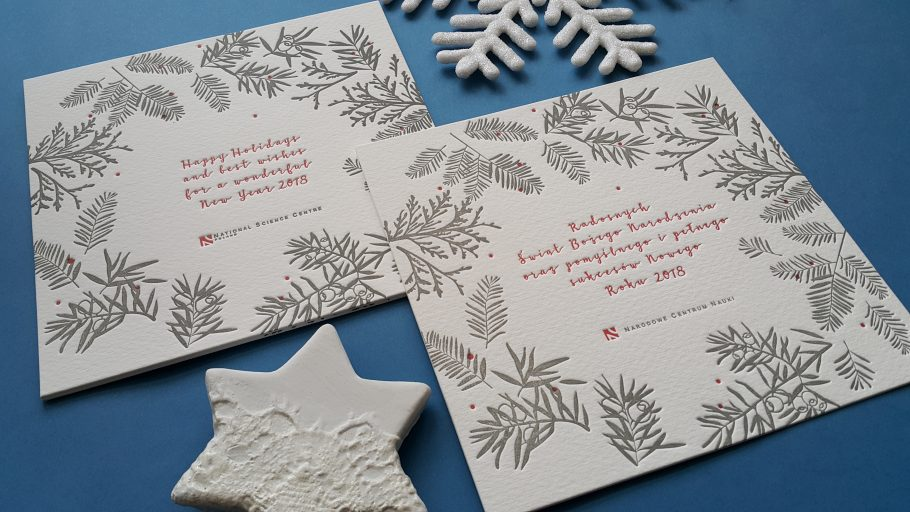 letterpress- kartki biznesowe-