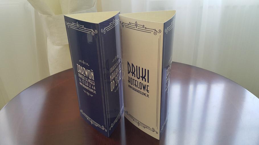 druk prezenterow na stolik_druki hotelowe_druki restauracyjne