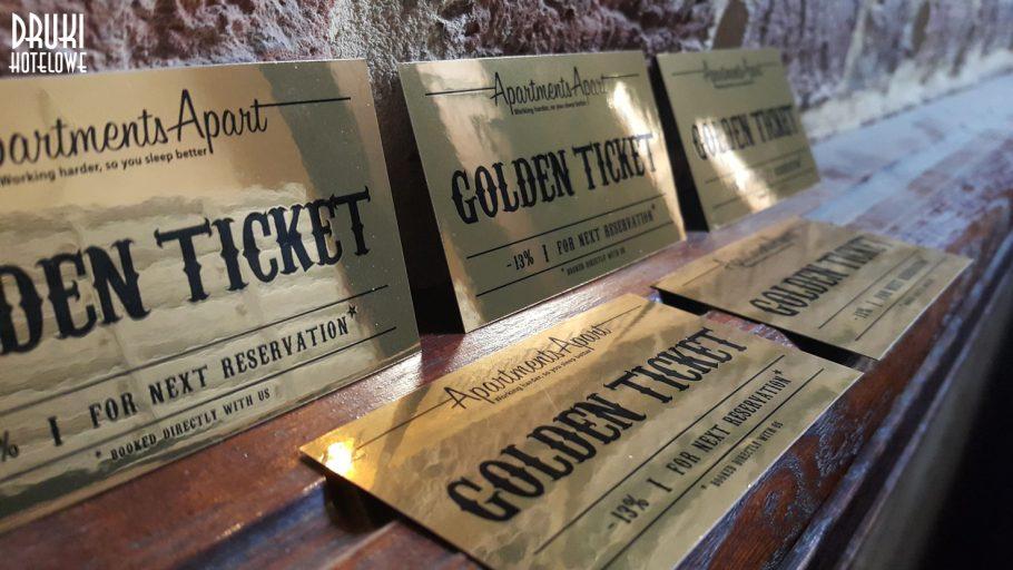 karty rabtowe_druk na zlotym papierze_vouchery